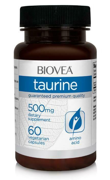 Taurine 500 mg BioVea
