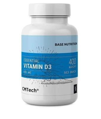Vitamin D3 600 IU CMTech