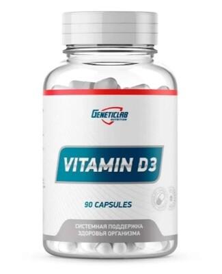 Vitamin D3 600 IU GeneticLab