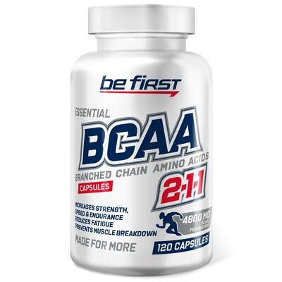 BCAA Capsules Be First