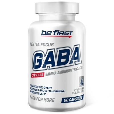 GABA Capsules Be First