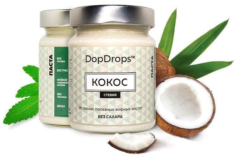 Кокосовая паста DopDrops