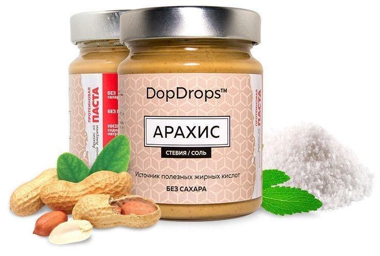 Арахисовая паста (протеиновая) DopDrops
