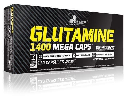Glutamine Mega Caps 1400 Olimp