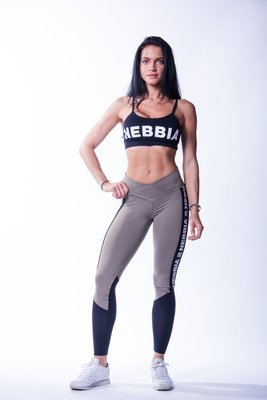 ЛЕГГИНСЫ HIGH WAIST MESH LEGGINGS 601