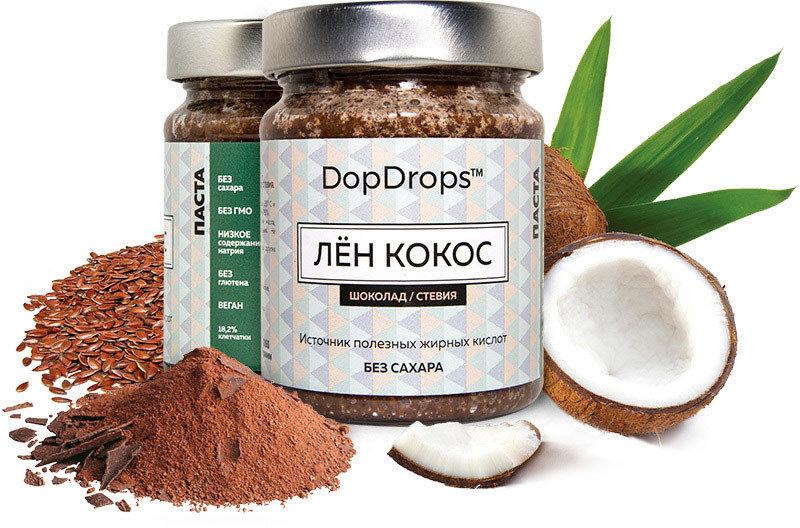 Лён - Кокос Шоколад DopDrops