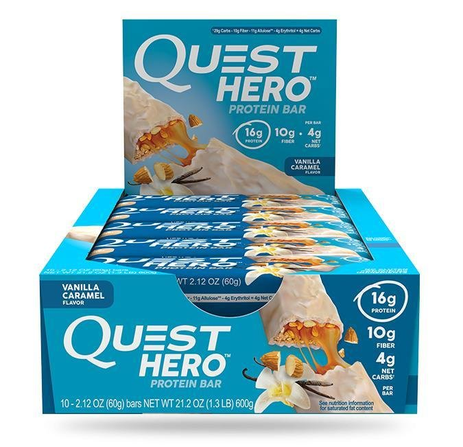 Hero Protein Bar Quest Nutrition