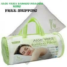 Aloe Vera Bamboo Memory Foam Pillow - Hypoallergenic Washable Pillow