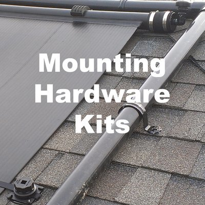 Pool Panel Mounting kits and hardware