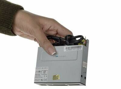 Built-in drive, card reader PC