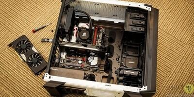 Installation upgrade kit PC