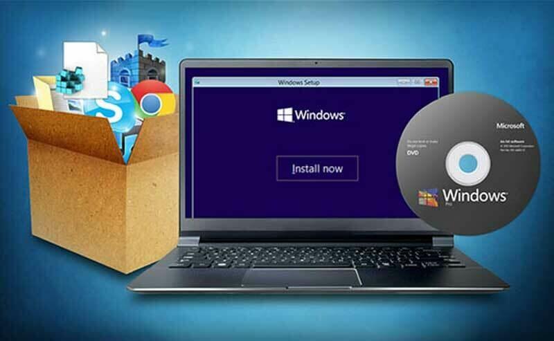 Installation of Windows 10