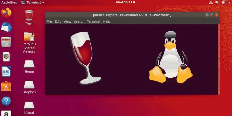 Installation of Wine for Linux