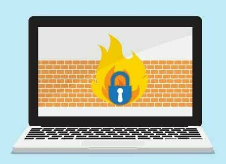 Installation of software firewall