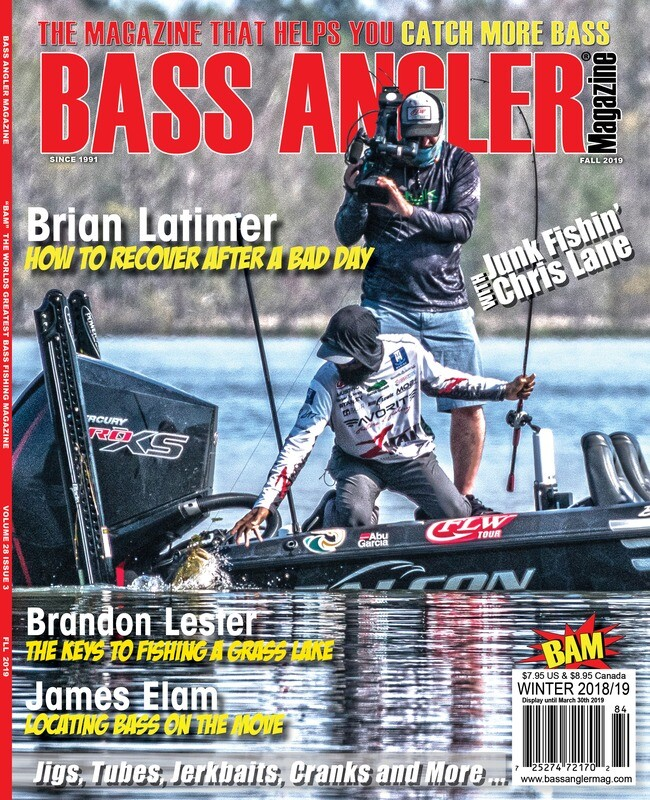 2019 BASS ANGLER Magazine Back Issue Set