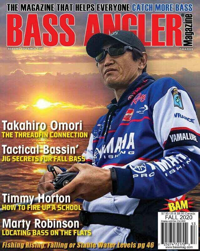 2020 Fall Issue - BASS ANGLER Magazine
