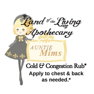 Mim's Rub | Chest Congestion Relief