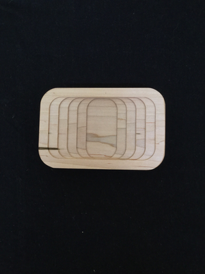 Lotion Bar / Soap Dish (Maple)