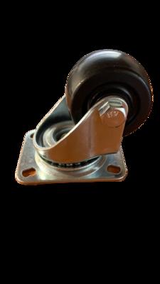 50mm Black Nylon Swivel Castor