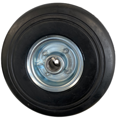 260mm x 85mm Solid Rubber Wheel