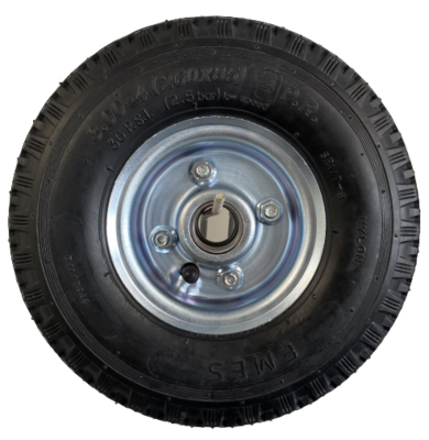260mm Pneumatic Wheel (3.00-4 4Ply Tyre)