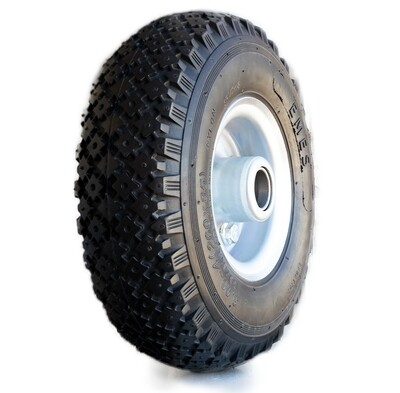 260mm Premium Pneumatic Wheel (3.00-4 4Ply)