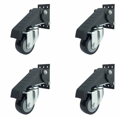 Retractable Workbench Castor Kit [4 Piece]