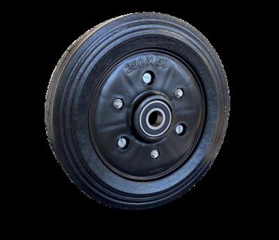 250mm Split rim Rubber Wheel