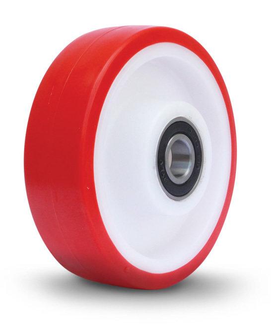 150mm Nylon Polyurethane Jockey Wheel Only