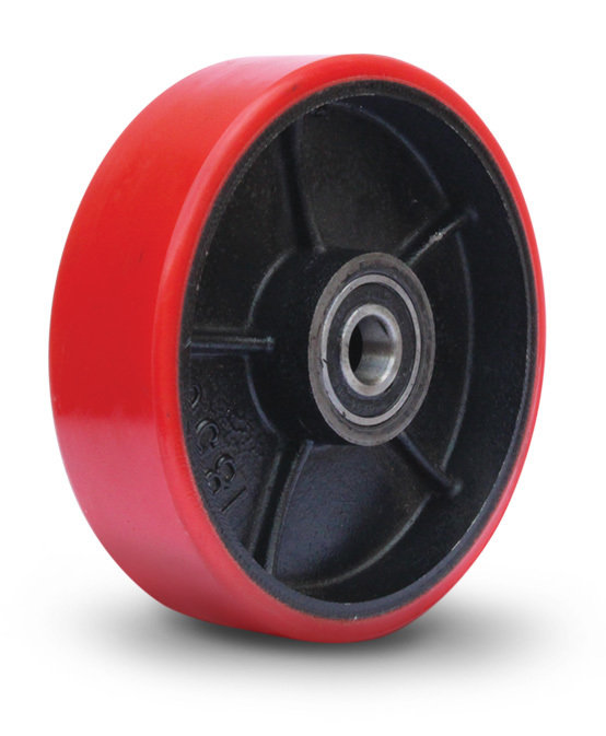 180mm Polyurethane Pallet Jack Steer Wheel
