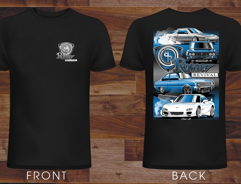 2019 Rotary Revival Event T-Shirt