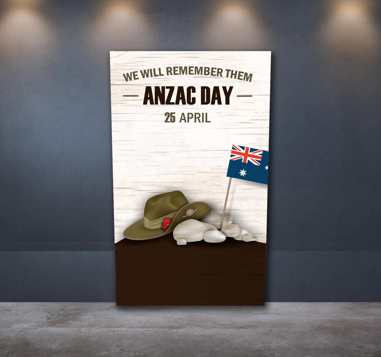 Anzac Day Sticker 3