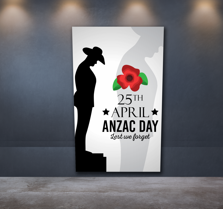 Anzac Day Sticker 4
