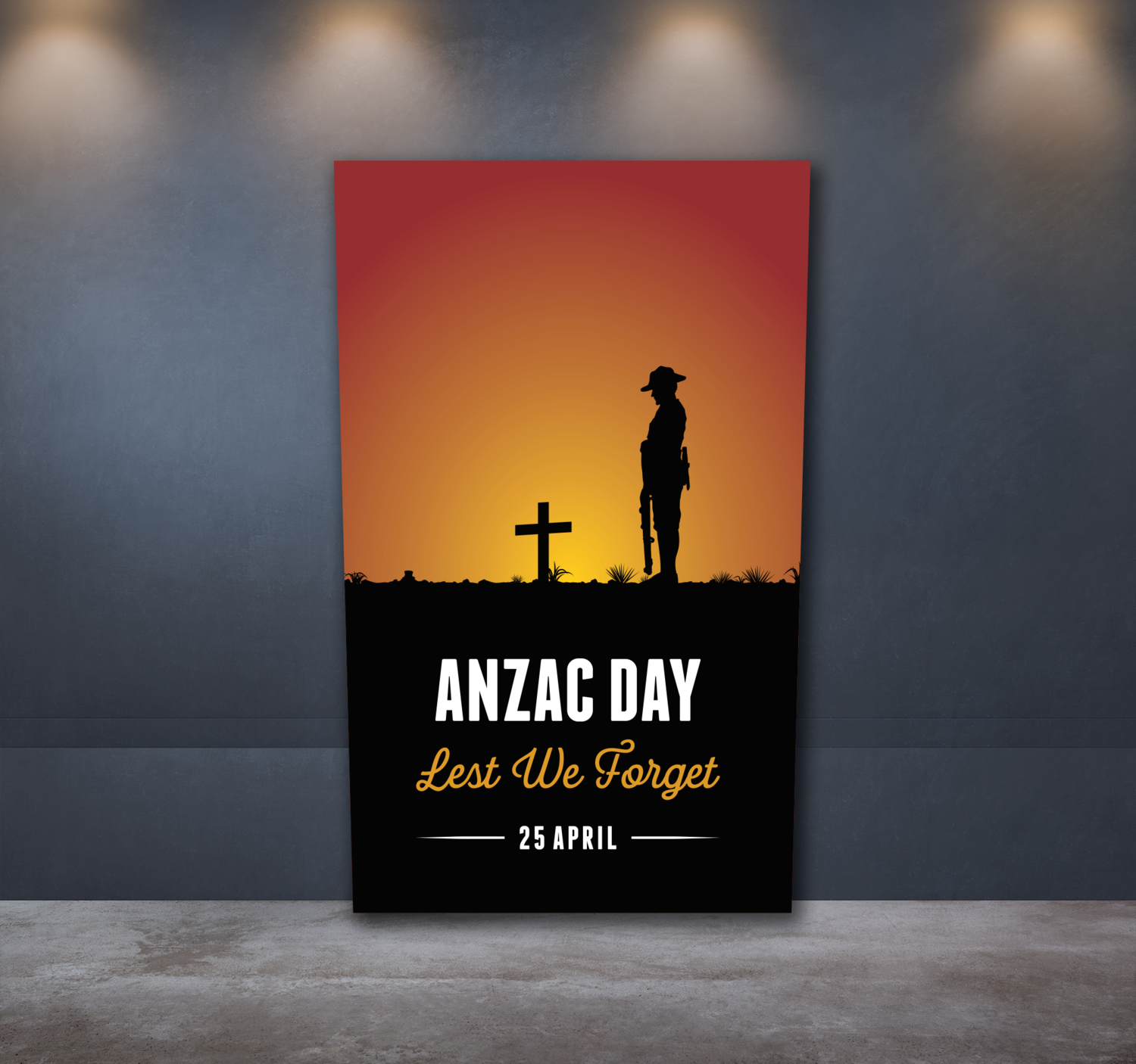 Anzac Day Sticker 1