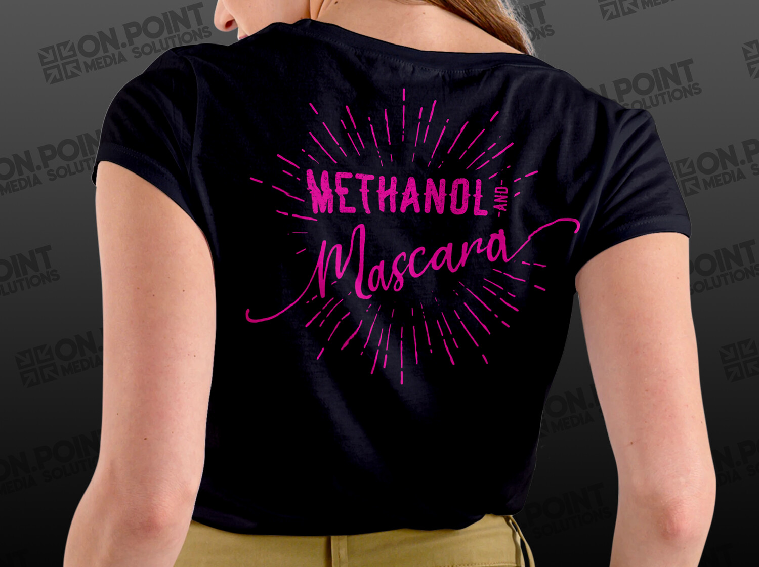 Methanol And Mascara Ladies Tee