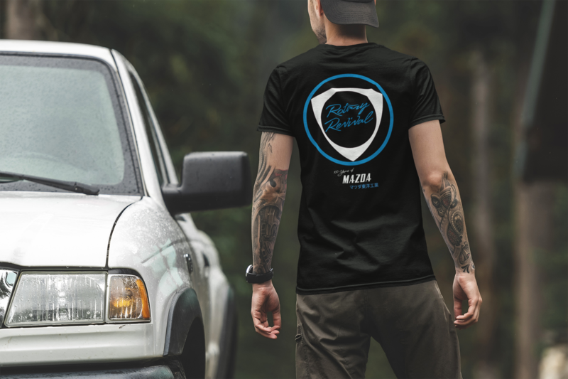 2020 Rotary Revival 100 Years Mazda Shirt