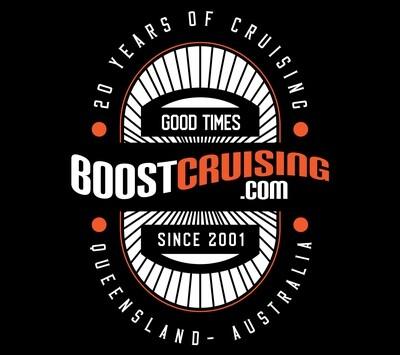 Boost Cruising 20 Year Anniversary Shirt