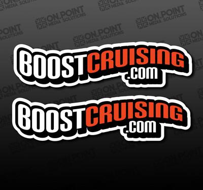 The Boostcruising OG Sticker Twin Pack