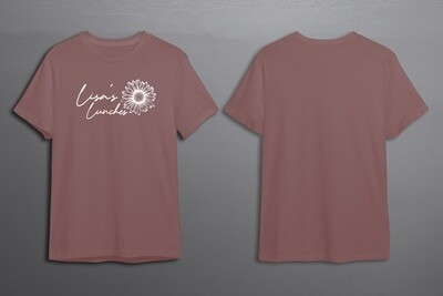 Lisa's Lunches Pink Daisy Tee PRE-ORDER