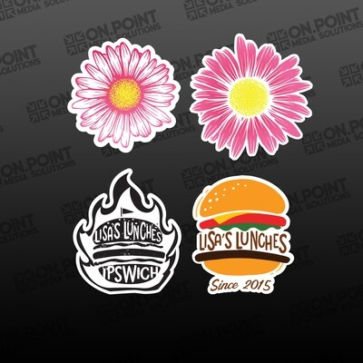 Lisa's Lunches Sticker Pack