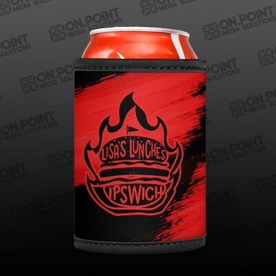 Lisa's Lunches Red Stubby Cooler PRE-ORDER