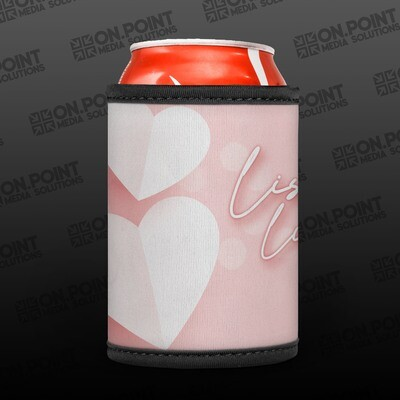 Lisa's Lunches Pink Stubby Cooler PRE-ORDER