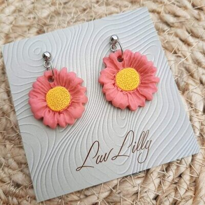 Lisa's Lunches Daisy Dangly Earrings PRE-ORDER