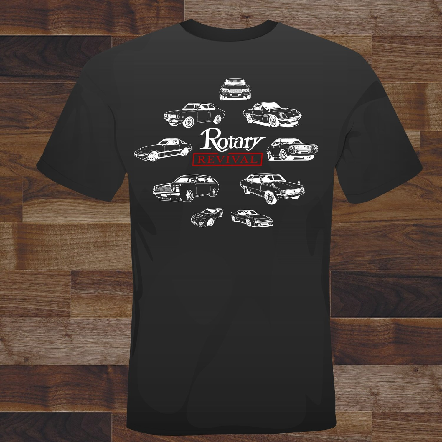 2018 Rotary Revival Event T-Shirt