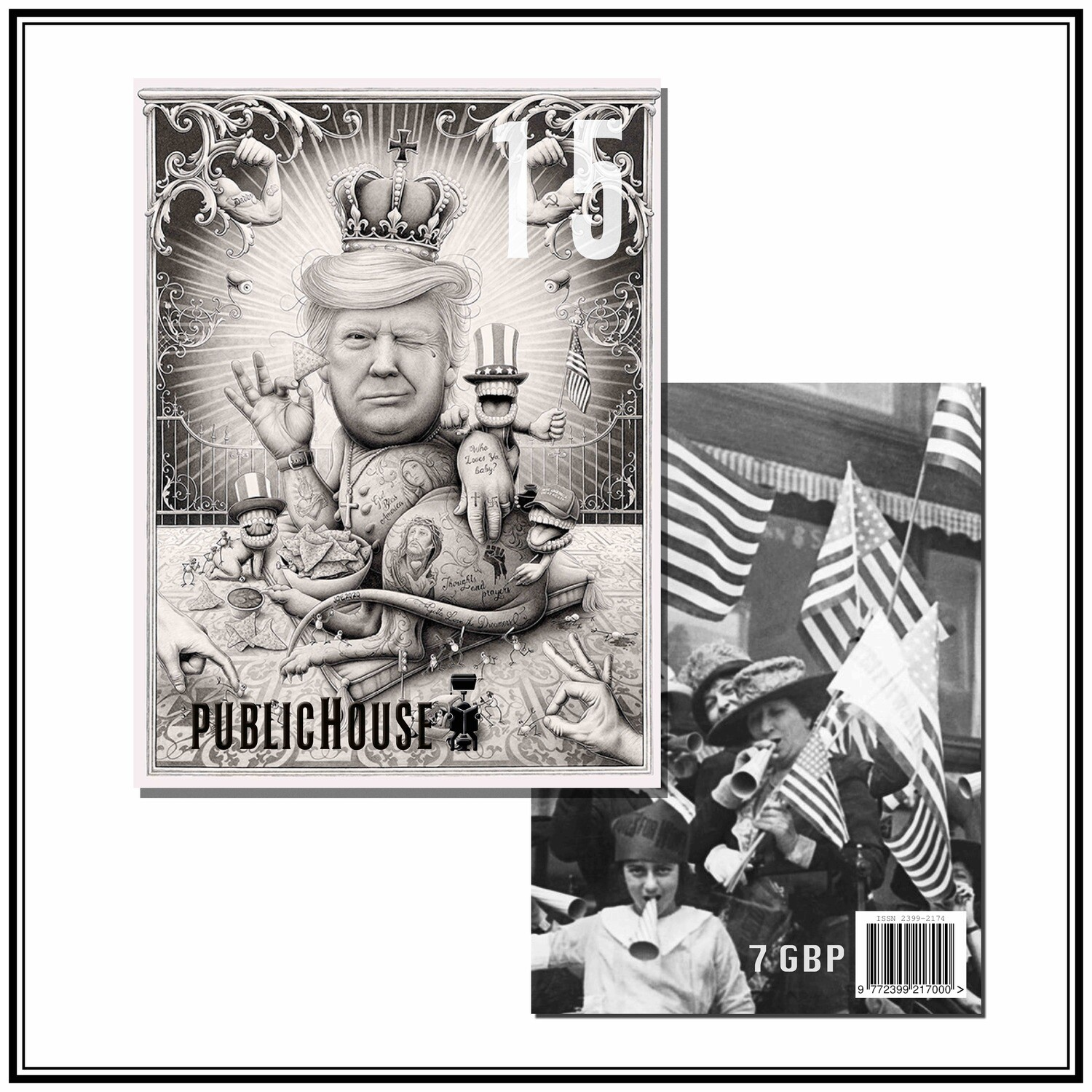 ISSUE 15   THE ELECTION ISSUE *SOLD OUT*