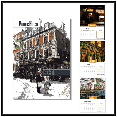 2021 Calendar - Iconic London Pubs