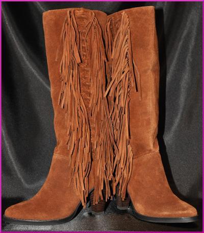 Michael Kors Dakota Fringe Boots