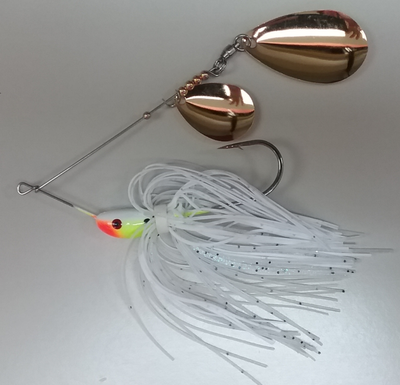 1/4 oz Classic Spinnerbait White