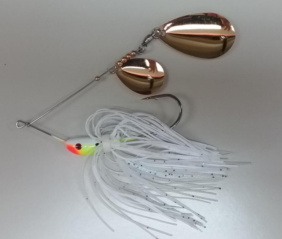 3/4 oz Classic Spinnerbait White