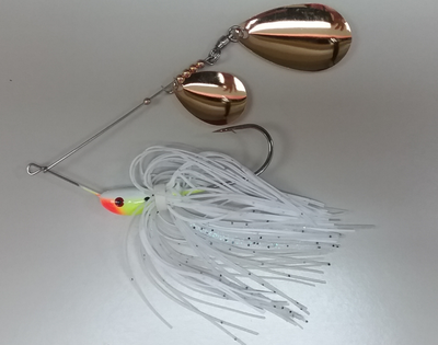 3/8 oz Classic Spinnerbait White